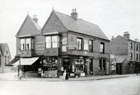 Graham's shop. Beeston Road 1934