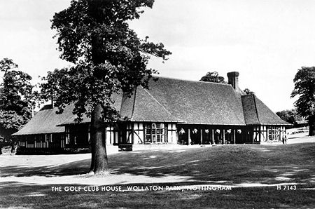 A view of the golf club in the 1960s