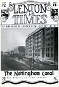 Front cover of Issue 2 - Lenton Times