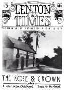 Front cover of Issue 3 - Lenton Times