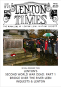 The cover of Lenton Times - Issue 27