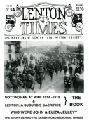 Front cover of Issue 34 - Lenton Times