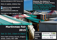 Martinmas Fair 2015